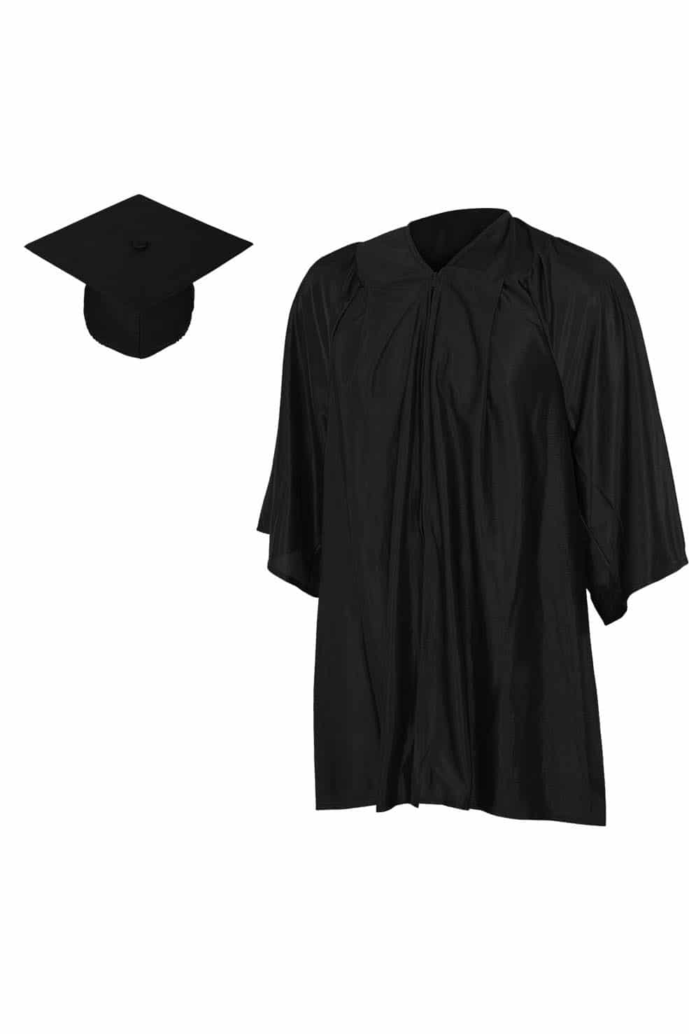 Matte Kinder Cap and Gown